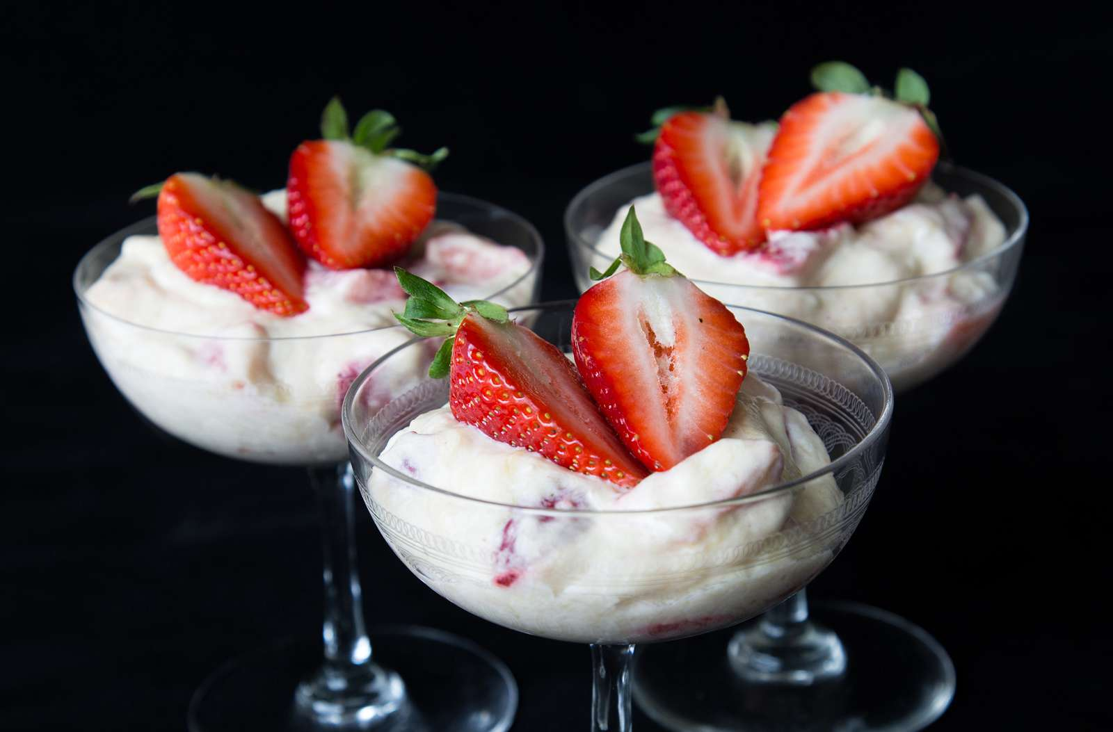 Eaton Mess - Glass hire Suffolk